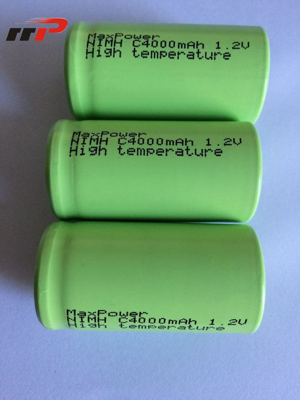 1.2V C size 4000mAh Nimh Rechargeable Battery Pack UL CE KC IEC SGS TISI